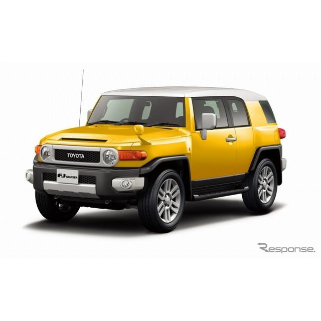 トヨタ自動車は、『FJクルーザー』を一部改良し、7月30日に発売した。  今回の一部改良では外板色に、ホ...
