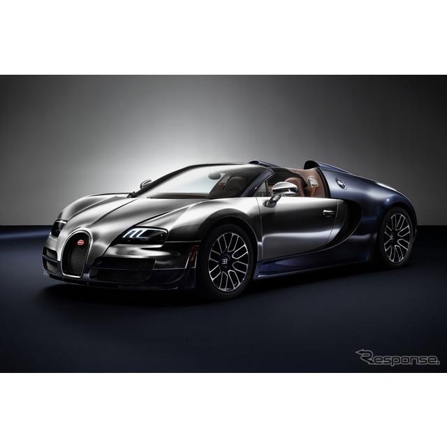 フランスの高級スポーツカーメーカー、ブガッティは8月7日、『ヴェイロン16.4グランスポーツ VITESSE』の「...
