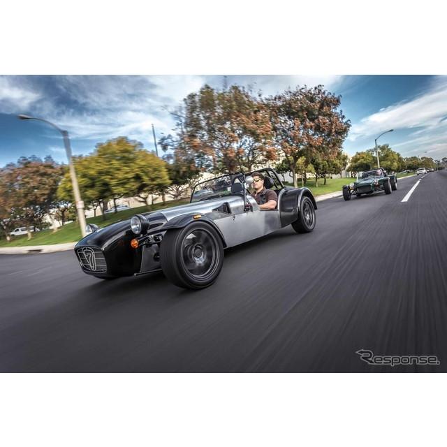 英国のスポーツカーメーカー、ケータハムカーズは8月13日、米国で開幕した「モンテレー・カー・ウィーク」...