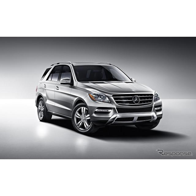 ドイツの高級車メーカー、メルセデスベンツの主力SUV、『Mクラス』。同車に関して、近い将来、車名が変更さ...