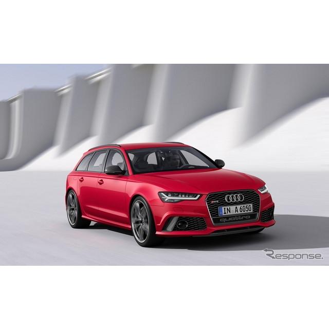 ドイツの高級車メーカー、アウディは9月4日、欧州で改良新型『RS6アバント』を発表した。  RS6アバントは...