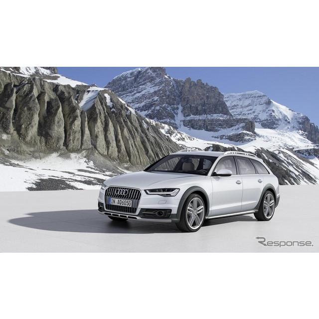 ドイツの高級車メーカー、アウディは9月上旬、欧州で改良新型『A6オールロードクワトロ』を発表した。  ...