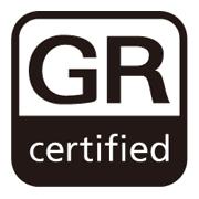 「GR certified」ロゴ