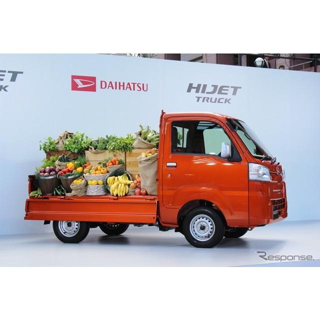 ダイハツ工業は、9月2日に発売した新型『ハイゼット トラック』の累計受注台数が、発売後1か月(10月1日現...