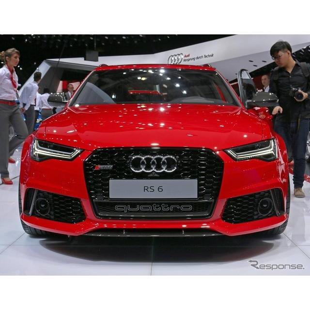 ドイツの高級車メーカー、アウディは10月2日、フランスで開幕したパリモーターショー14において、改良新型...