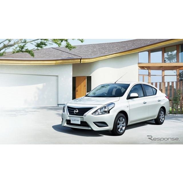 日産自動車は、コンパクトセダン『ラティオ』をマイナーチェンジし、10月22日より販売を開始した。  エク...