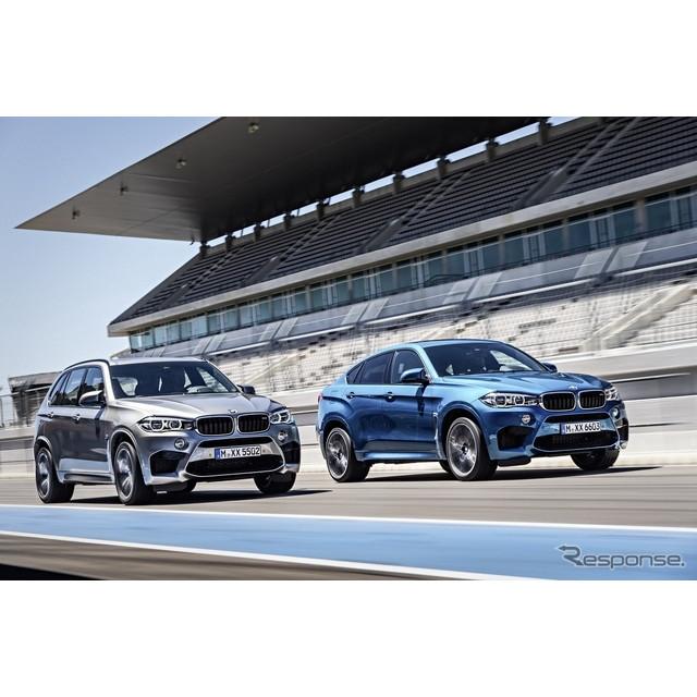 ドイツの高級車メーカー、BMWは10月30日、新型『X5M』と『X6M』の概要を明らかにした。実車は11月、米国で...