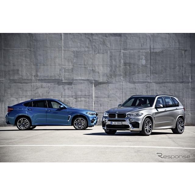 ビー・エム・ダブリュー(BMWジャパン)は、BMW『X5 M』『X6 M』をフルモデルチェンジし、11月6日より注文...