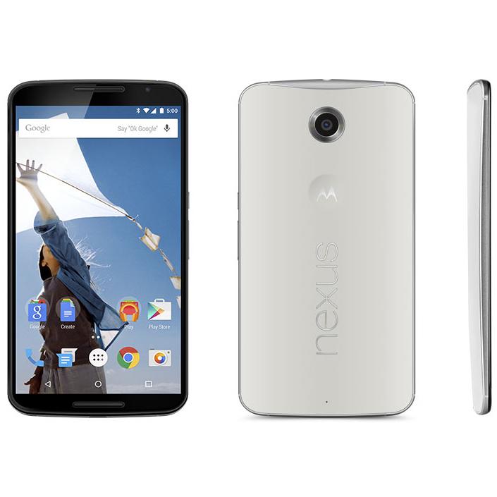 「Nexus 6」クラウドホワイトモデル