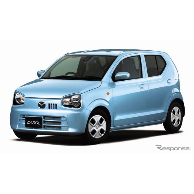 マツダは、軽自動車『キャロル』を全面改良し、2015年1月30日より発売する。キャロルはスズキ『アルト』のO...