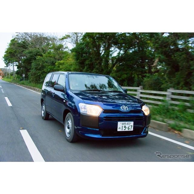 9月1日、国産商用バンとして多くの企業やビジネスマンに支持されてきたトヨタ『プロボックス』、『サクシー...