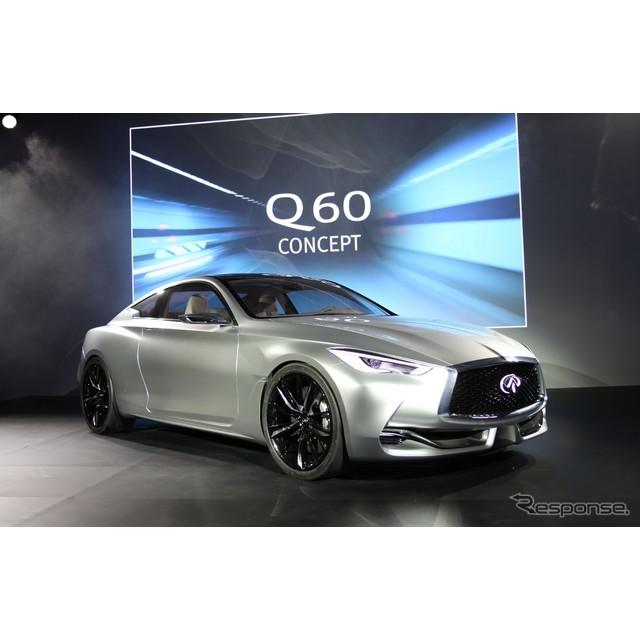 日産自動車の海外向け高級車ブランド、インフィニティは2015年1月11日、デトロイトモーターショー15のプレ...