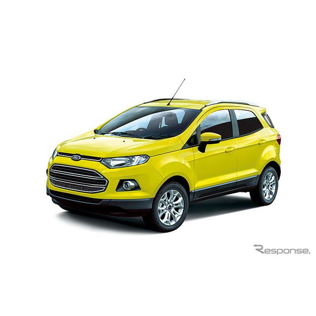 フォードジャパンは、コンパクトSUV『エコスポーツ』に特別仕様車「ブライトイエロー」を設定、限定70台で1...