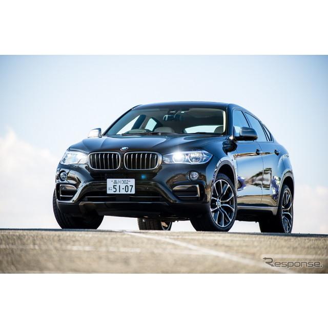 BMWは『X6』を2世代目にフルモデルチェンジした。初代は、SUVにクーペデザインを導入し新たなセグメントを...