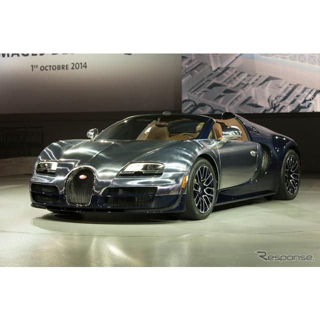 世界最強、最速、そして最も高価なフランスのスーパーカー、ブガッティ『ヴェイロン』。同車の現行型が、完...