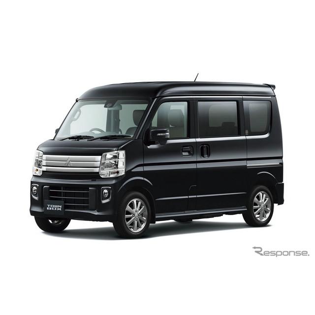 三菱自動車は、軽商用車『ミニキャブ バン』と軽乗用車『タウンボックス』をフルモデルチェンジし、3月20日...