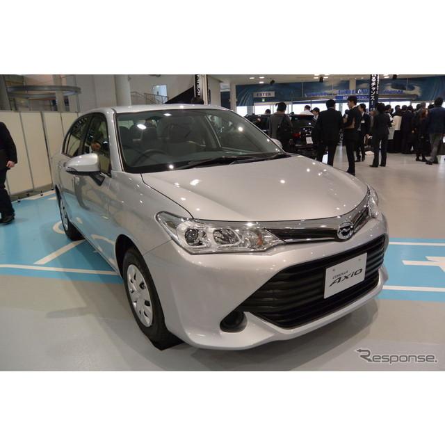 トヨタ自動車 カローラ 改良新型 発表会
