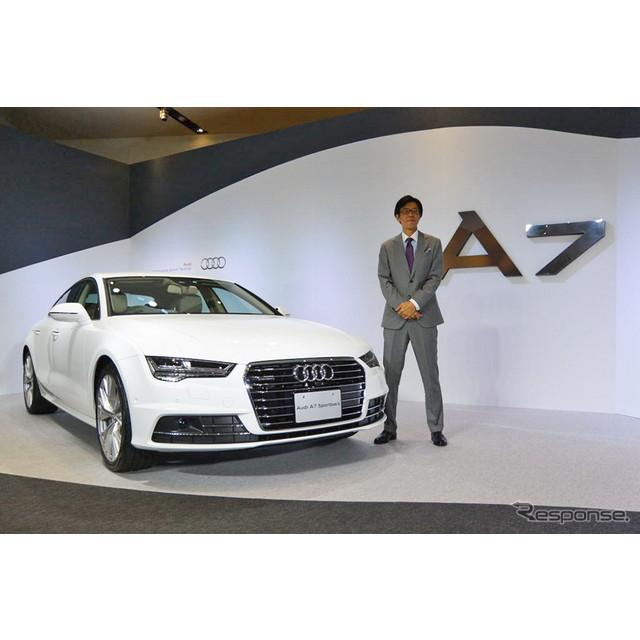 アウディジャパンは外観やエンジンなどを大幅改良した新型『A7』および『S7』、『RS 7』を4月21日から販売...