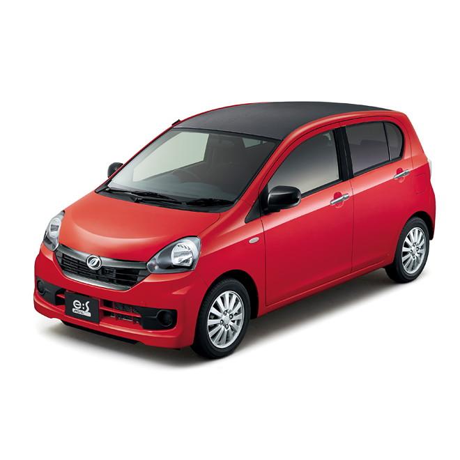 ダイハツ工業は2015年4月8日、軽乗用車「ミラ イース」「ムーヴコンテ」「ミラ ココア」の3モデルに一部改...