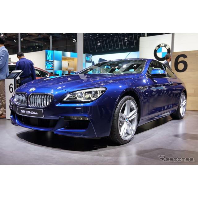 ドイツの高級車、BMWは4月20日、中国で開幕する上海モーターショー15において、『6シリーズ』の改良新型モ...