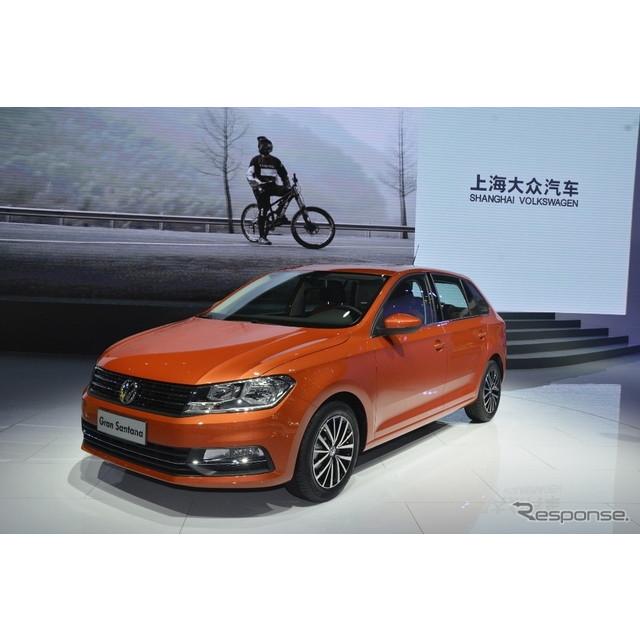 フォルクスワーゲンは、4月20日に開幕した上海モーターショー15のプレスカンファレンスで3台の世界初公開モ...