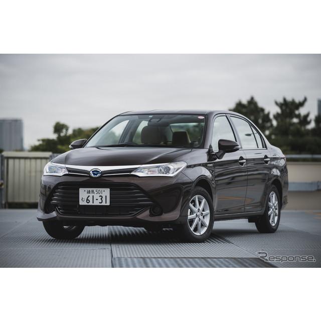 トヨタ自動車は、『カローラアクシオ』をマイナーチェンジし、4月1日より発売した。安全運転支援機能「トヨ...