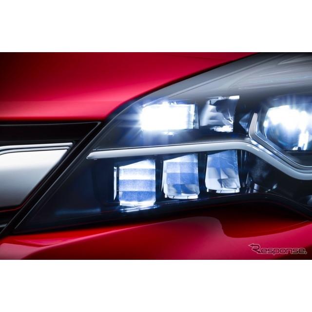米国の自動車最大手、GMの欧州部門のオペルグループが9月、フランクフルトモーターショー15で初公開する次...