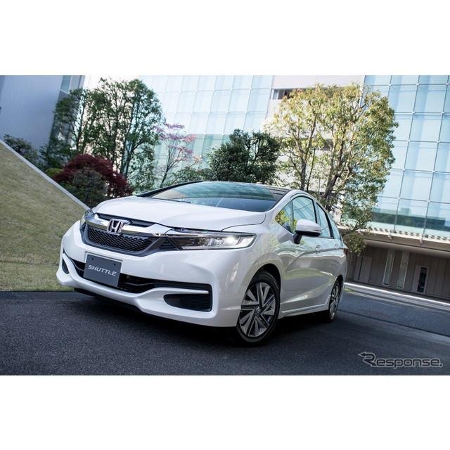 ホンダは15日に新型『シャトル』を発売した。ハイブリッド車とガソリン車を設定し、価格は169万円から254万...