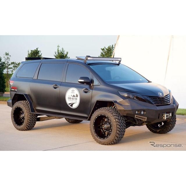 トヨタ自動車の米国法人、米国トヨタ販売は6月末、米国ラスベガスで11月上旬に開催されるSEMAショー15にお...