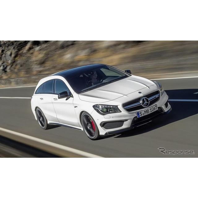 メルセデスベンツの高性能車部門、メルセデスAMGは7月14日、欧州向けの『CLA45  4MATIC』と『CLA45  4MATIC...