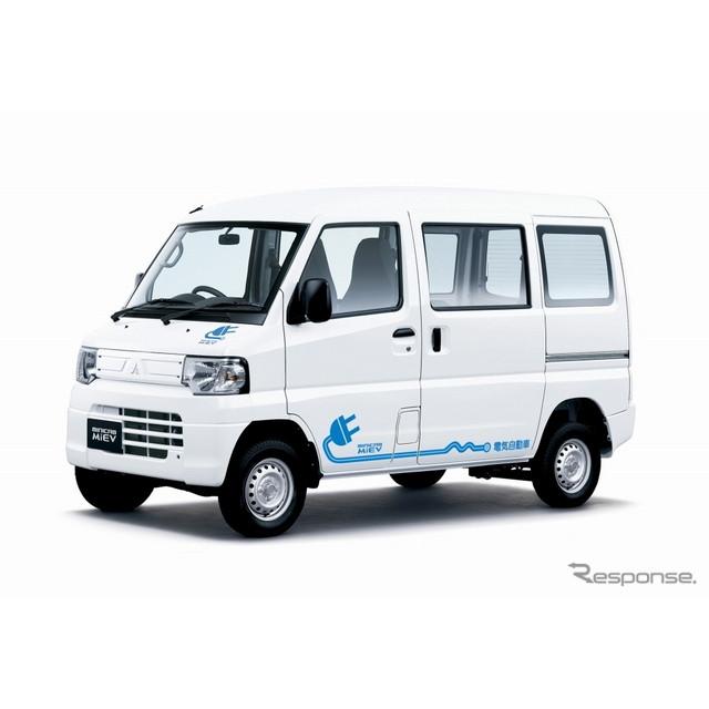三菱自動車は、軽商用電気自動車(EV)『ミニキャブ-MiEV バン』と『ミニキャブ-MiEV トラック』を一部改良...