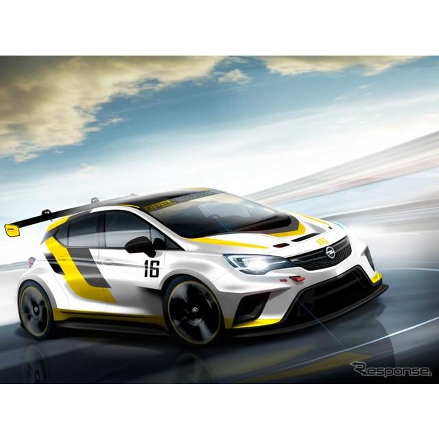 米国の自動車最大手、GMの欧州部門のオペルグループが9月、フランクフルトモーターショー15で初公開する新...