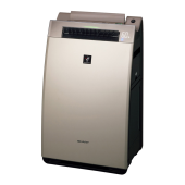 プラズマクラスター加湿空気清浄機<KI-WF100-N(ゴールド系)>