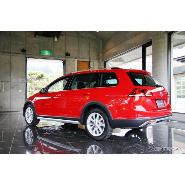 VW『ゴルフ オールトラック』は、本格的なクロスオーバー4WDとして、ラフロード走行での高い走破性も考慮し...