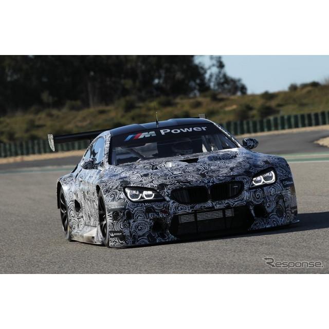 ドイツの高級車メーカー、BMWが現在開発中の新型レーシングカー、『M6 GT3』。同車に関して、デビュー時期...