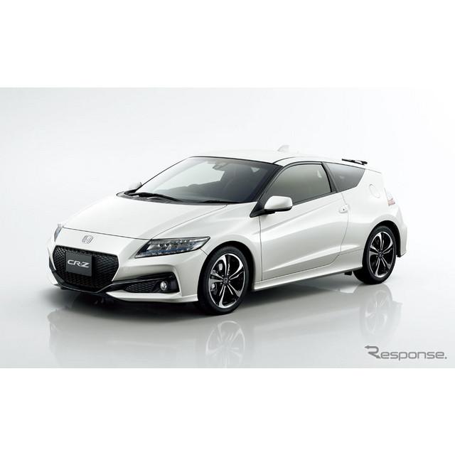 ホンダは、ハイブリッドスポーツ『CR-Z』の外観デザインを刷新するとともに、ドライバビリティーの向上や装...