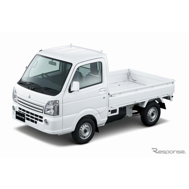 三菱自動車は、軽商用車『ミニキャブ トラック』を一部改良し、9月3日より販売を開始した。  今回の一部...