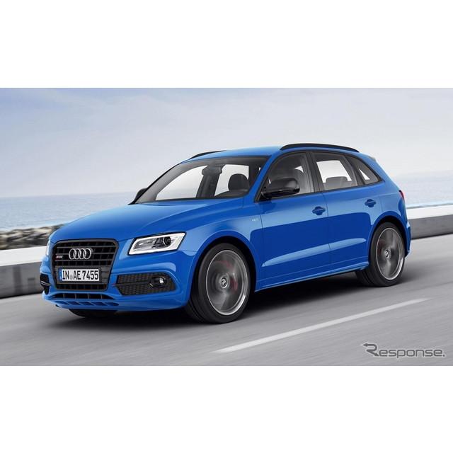 ドイツの高級車メーカー、アウディは9月4日、『SQ5 TDIプラス』の概要を明らかにした。実車は9月15日、ドイ...