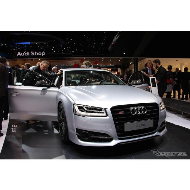 ドイツの高級車メーカー、アウディは9月15日、ドイツで開幕したフランクフルトモーターショー15において、...