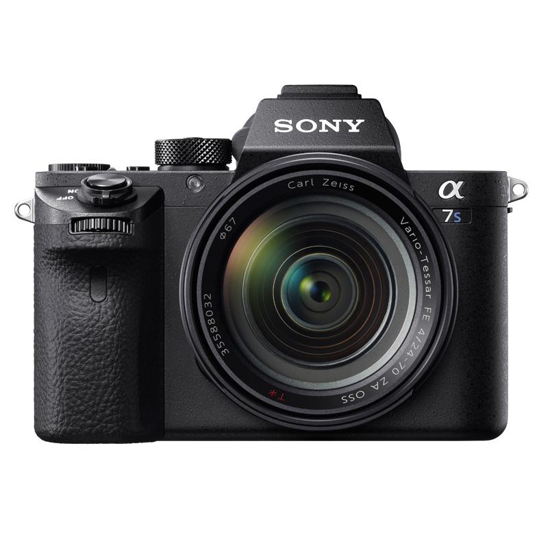 レンズ交換式ミラーレスデジタル一眼カメラ 『α7S II』ボディ ILCE-7SM2 (Eマウント『FE2470Z』装着)