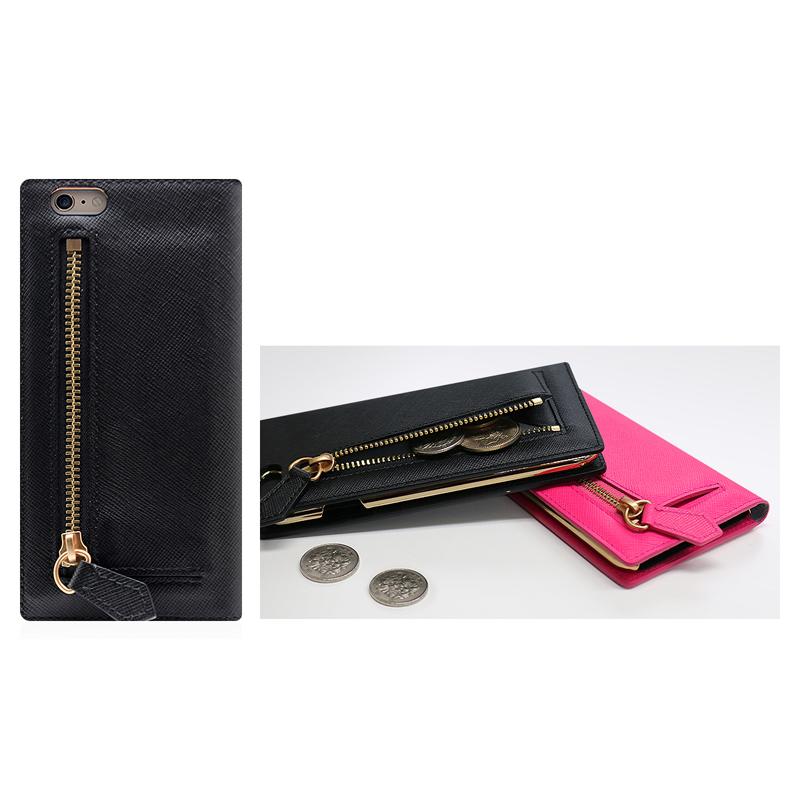 Saffiano Zipper Case