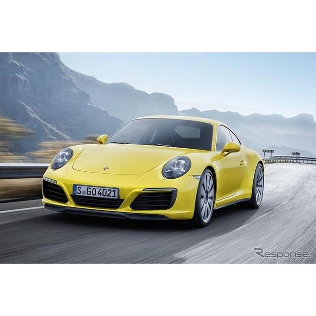 ポルシェ ジャパンは、4WDモデルの改良新型、『911カレラ4』『911カレラ4 カブリオレ』『911カレラ 4S』『9...
