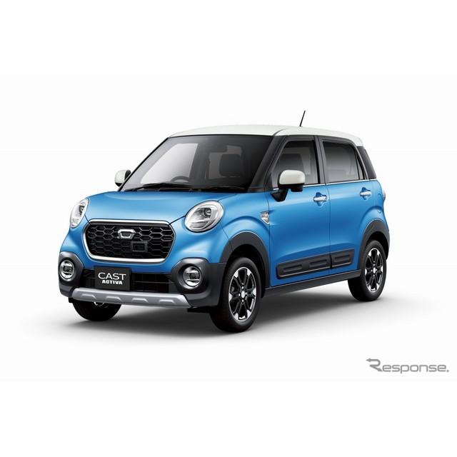 ダイハツ工業は、9月9日に発売した新型軽乗用車『キャスト』の累計受注台数が、発売後1か月で、月販目標台...