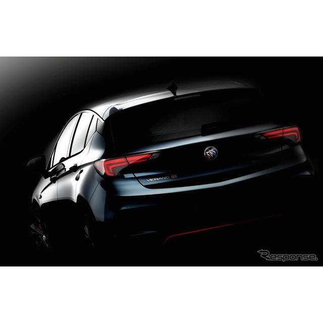 米国の自動車最大手、GMの中国合弁、上海GMは10月13日、新型ビュイック『ヴェラノ』に、ハッチバックと「GS...