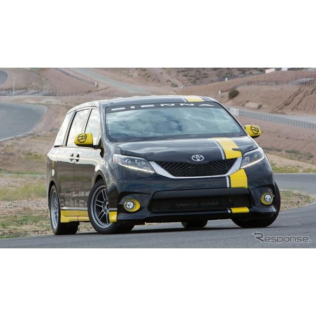 トヨタ自動車の米国法人、米国トヨタ販売は11月3日、米国ラスベガスで開幕したSEMAショー15において、『シ...
