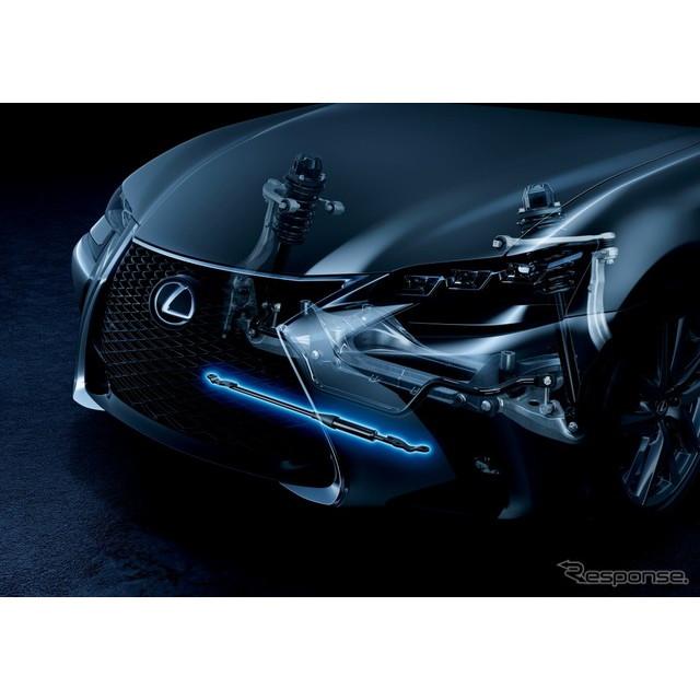 ヤマハ発動機は、車両用車体制振ダンパー「パフォーマンスダンパー」が、11月25日に発表されたレクサス『GS...