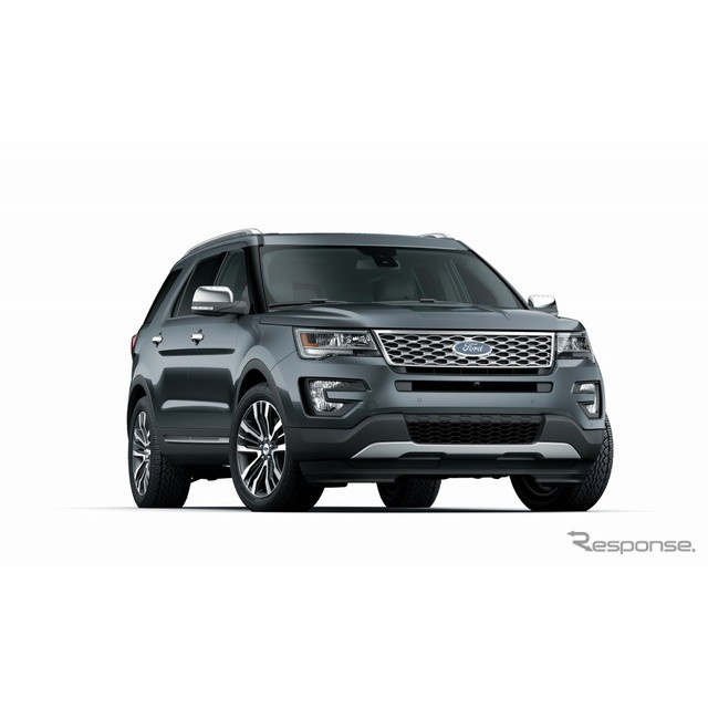 フォード・ジャパン・リミテッドは、SUVモデル『エクスプローラー』に新機種「タイタニアム」を追加し、201...