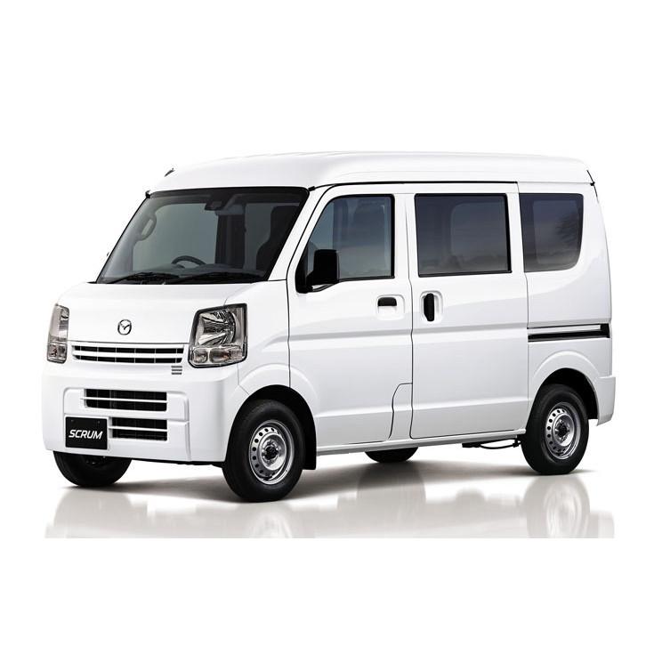 マツダは2015年12月18日、軽商用車「スクラムバン」に一部改良を実施し、発売した。  スクラムバンはマツ...