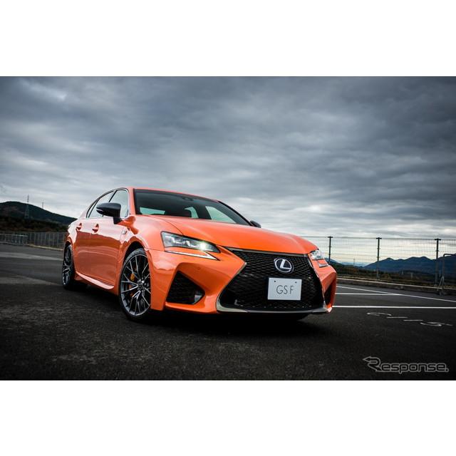 レクサスは、高性能スポーツセダン『GS F』について、11月25日の発売から約1か月にあたる12月23日時点で約3...
