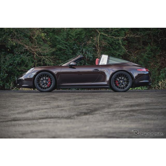 ポルシェ『911』ラインアップで革新的なルーフ構造を持つ「タルガ4」に、新たに高性能バージョン「GTS」が...